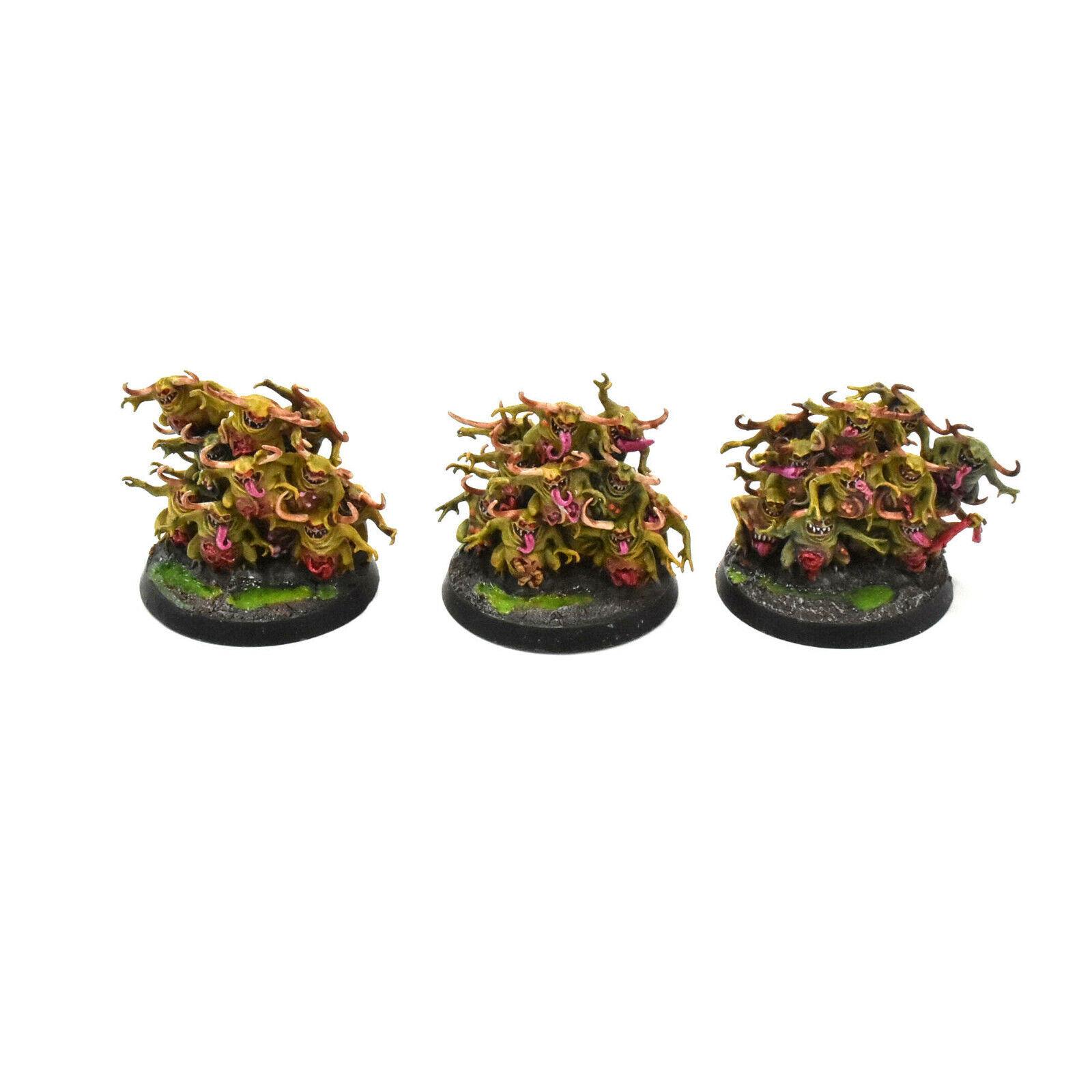 Los guardianes del caos, nurglings 35repas 1 pro painted Sigmar Sigmar Sigmar 40k nurgle. b83