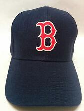 Boston Red Sox Applique Logo, Heat Applied on a Navy Blue cap hat! Adjustable!