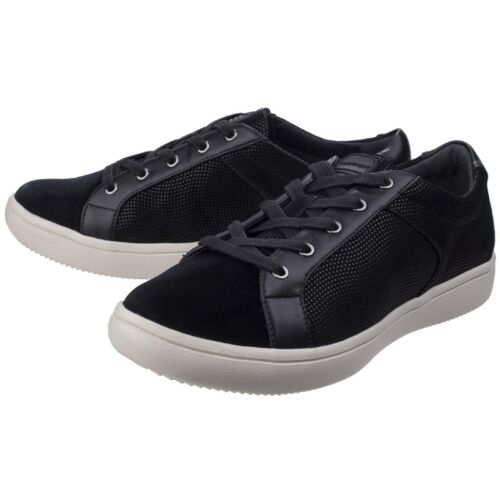 Rockport Lace Womens Velour Trainers Flat Shoes Up Ariell Ladies rwPBOr