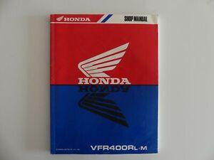 original-Honda-VFR-400-R-L-m-Werkstatthandbuch-Reparaturanleitung-service-manual
