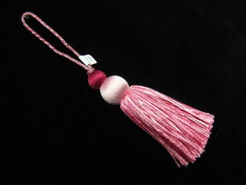 Wemyss houles ioko key tassel de luxe couture garniture coussin trim-rose