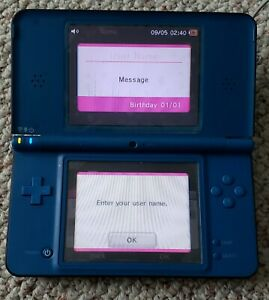 Nintendo 3DS XL Blue Handheld Video Game Console System