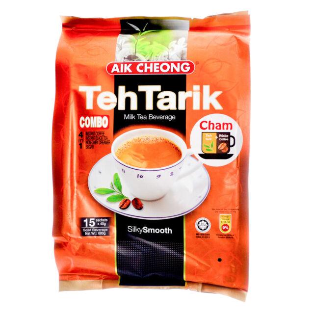 AIK CHEONG 4 In 1 Combo Milk Tea (Teh Tarik + White Coffee ...