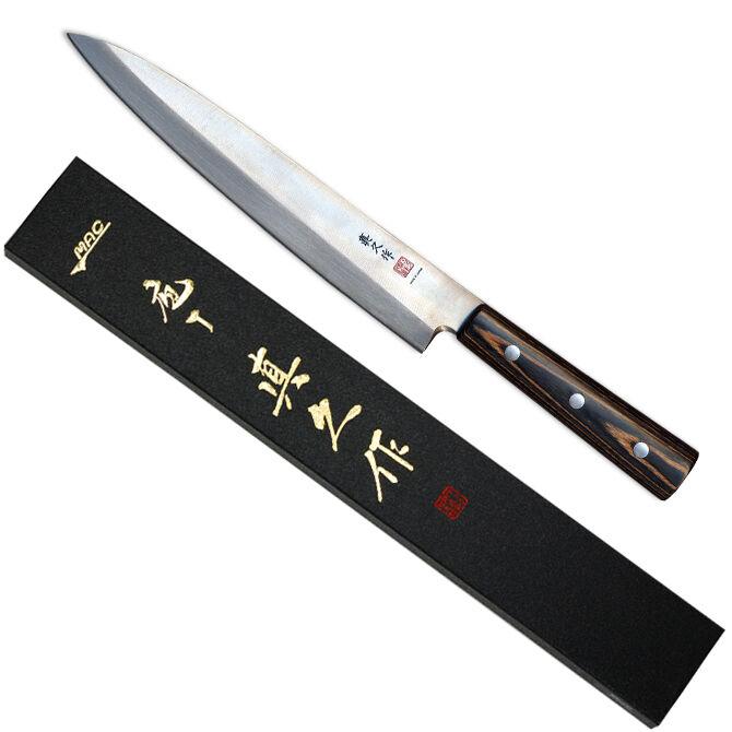 Le Japon MAC couteau FKW-7L japonais Series Gaucher 8  Yanagiba (poisson Trancheuse) NEUF