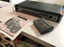 gallien krueger backline 250bl bass amp head