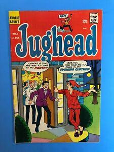 JUGHEAD-156-DREAM-OF-GENIE-Archie-Series-Silver-Age-1968-Very-Fine