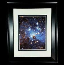 Hubble Telescope: Magellanic Star Cloud Universe Art Print (Matted & Framed NEW)