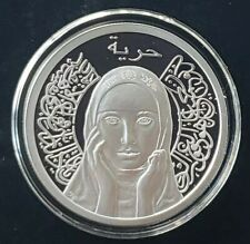 1 OZ 999 PURE SILVER  PROOF COSMIC QUEEN SHIELD MINI MINTAGE ROUND COIN COA GIRL