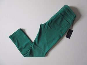 NWT-Not-Your-Daughters-Jeans-NYDJ-Sheri-Skinny-in-Viridian-Green-Stretch-6P