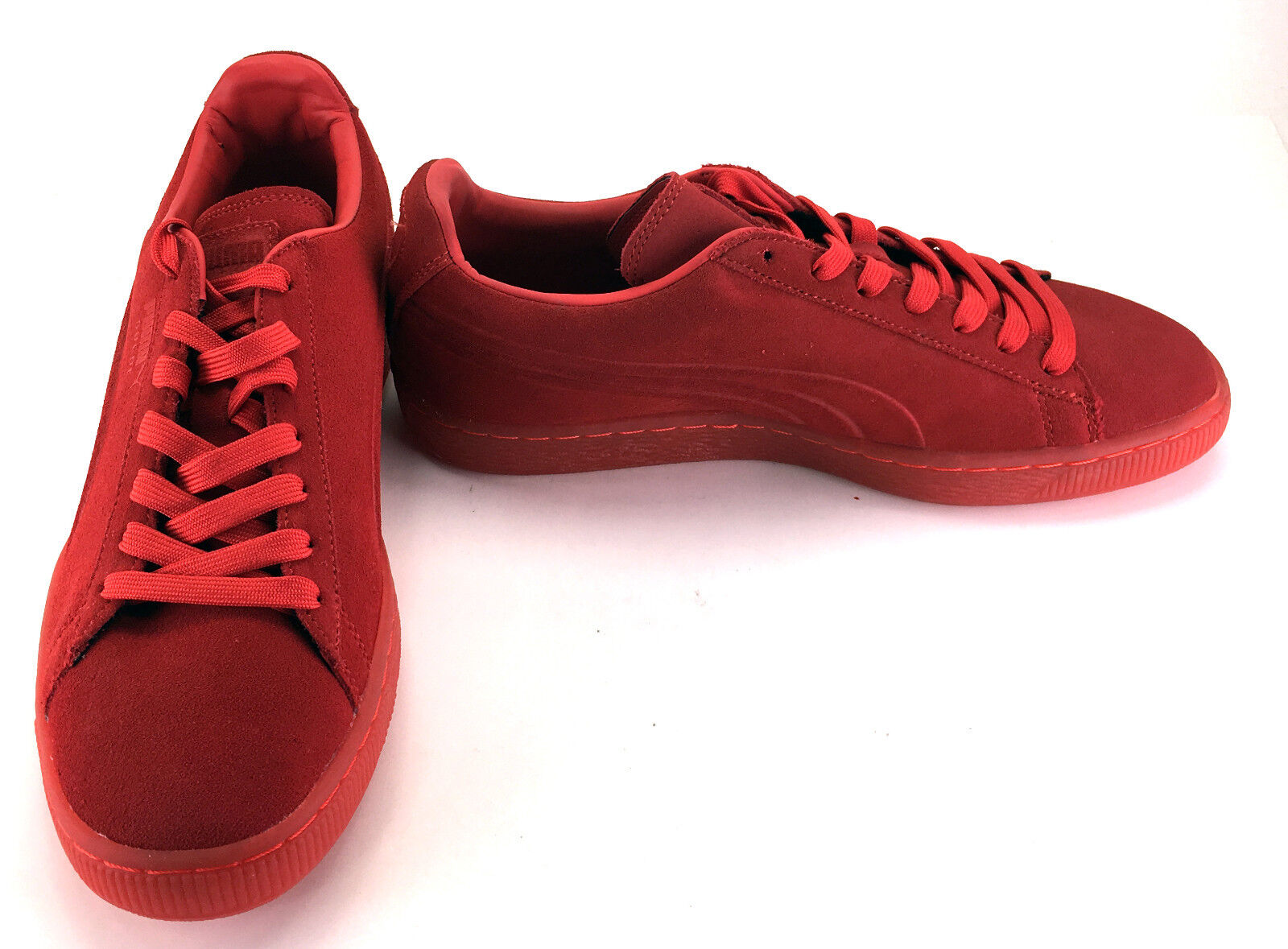 Puma shoes Suede Emboss Iced Red Sneakers Size 9