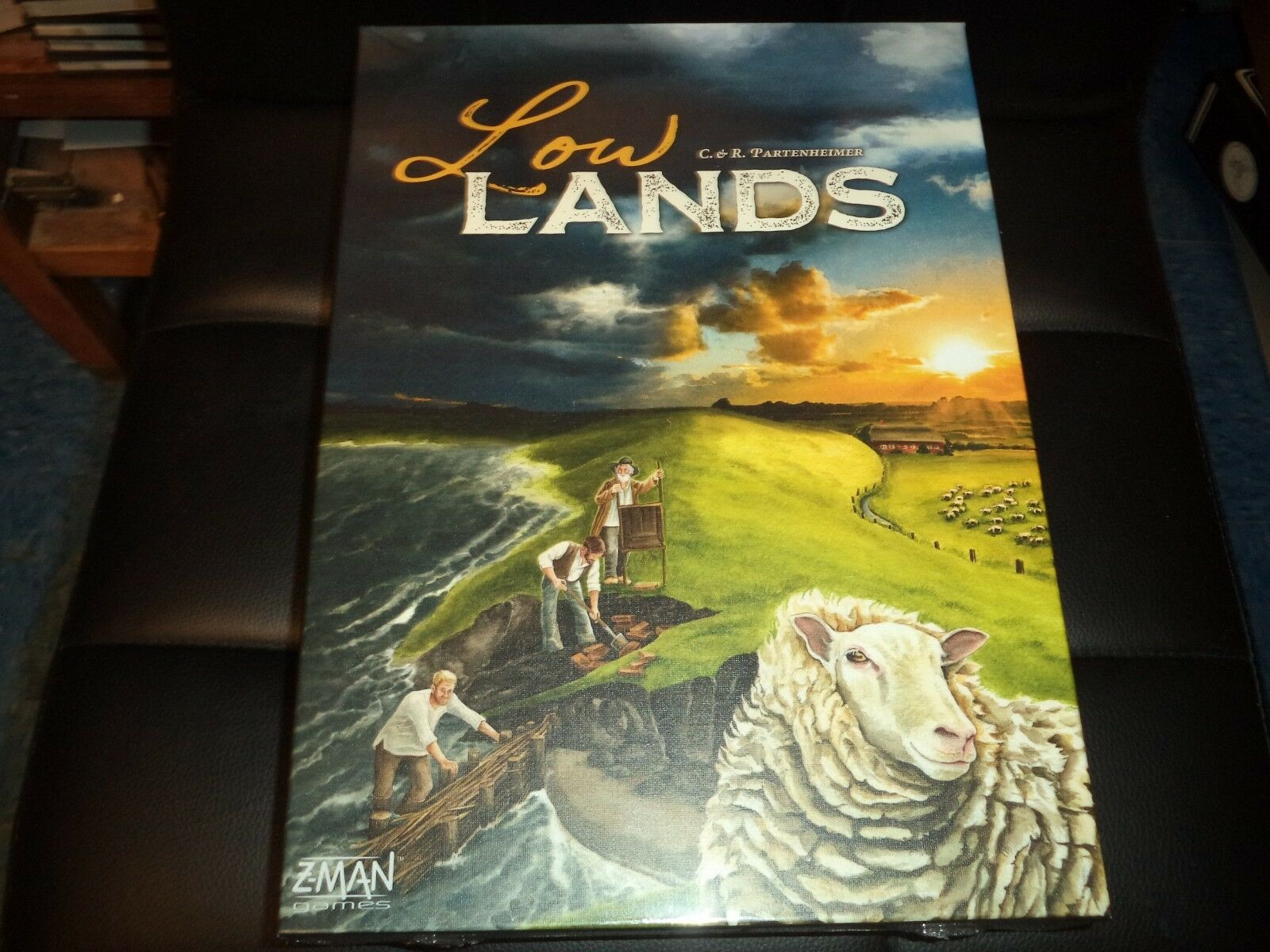 Low Lands - Z-Man Games Board Game New