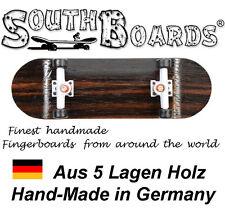 Komplett Holz Fingerskateboard OAK/WS/SWZ SOUTHBOARDS® Handmade Wood Fingerboard