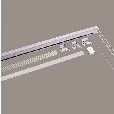 Metal Roman Blind Track Kit 120cm Wide Cut To Your Size