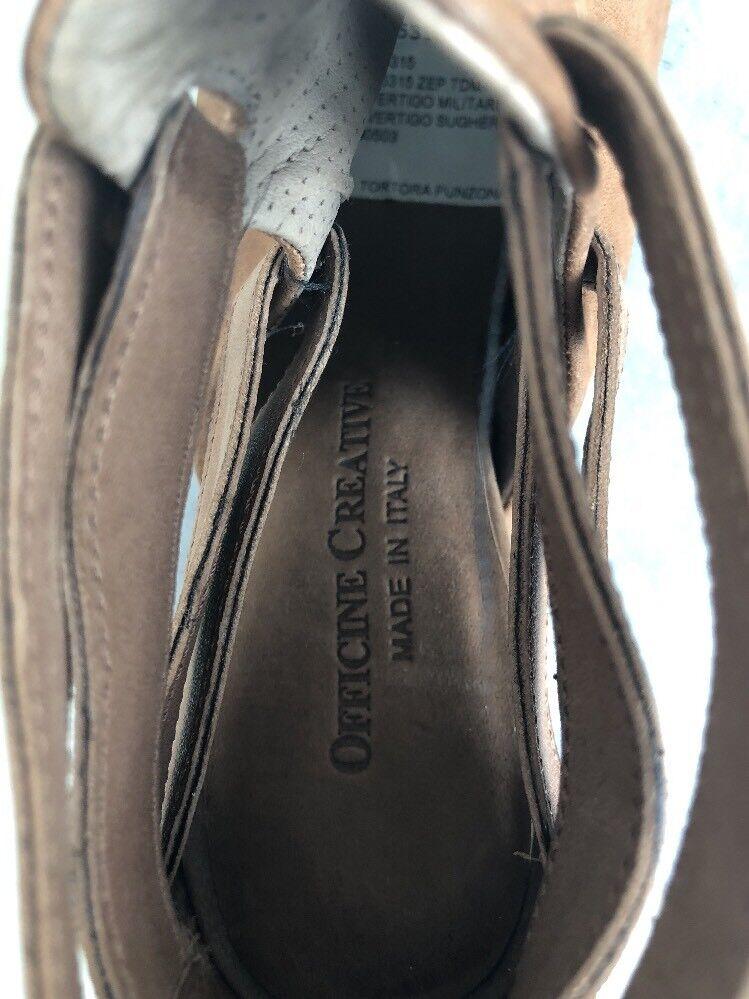Officine Creative Sommerstiefeletten Sandaletten 369 Keil Gr. 37 LP 369 Sandaletten  NEU 7a2bf1