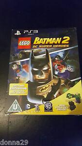 Lego-Batman-2-DC-Super-Heroes-LIMITATA-LEX-LUTHOR-Toy-EDIZIONE-PS3-GIOCO-NUOVO