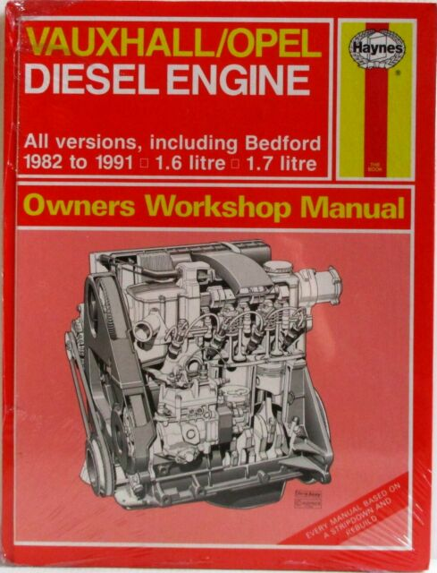 Haynes Vauxhall / Opel Diesel Engine 1982 To 1991 Owners Workshop Manual - Used