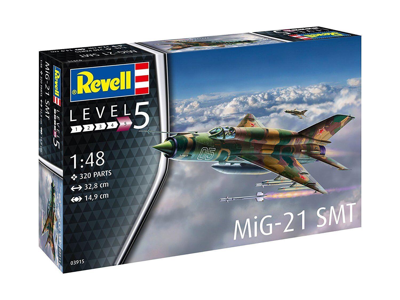 MiG-21 SMT, Revell Aeroplane Kit 1 48, 03915
