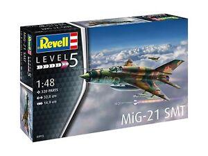 MiG-21-SMT-Revell-Flugzeug-Bausatz-1-48-03915