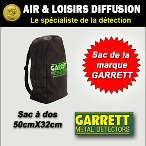 Détecteur de métaux, sac à dos  GARRETT neuf en stock