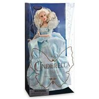 Disney Store Cinderella Fairy Godmother Live Action Film Collection Doll