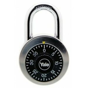 Yale-Classic-Series-Stainless-Steel-Rotary-Dial-Combination-Padlock-Y140-50-122