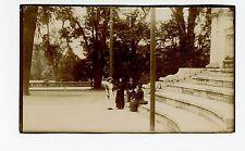 """Bosque de Chapultepec a las 6:30 PM"" RPPC Antique Mexico City DF Photo 1910s"