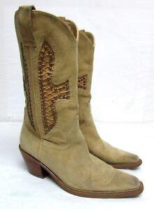 ce3d938d430 Sketchers Skechers women's size 7.5 suede/leather cowboy boots | eBay