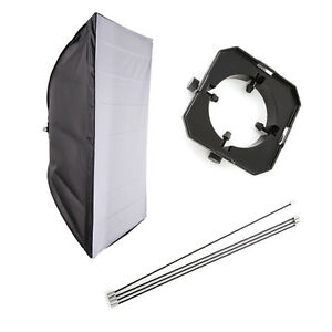 50x70cm Softbox Diffuser with Mount Ring for Studio Flash Light Speedlite 20x27""