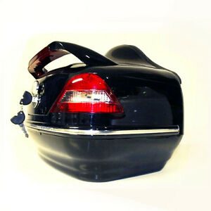 top case motorrad roller koffer n14 schwarz standlicht. Black Bedroom Furniture Sets. Home Design Ideas
