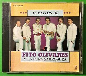 Fito-Olivares-Y-La-Pura-Sabrosura-15-Exitos-CD-1992-Muy-Bien