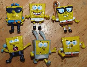 Special-Lot-of-6-Collection-PVC-Toys-Spongebob-Squarepants