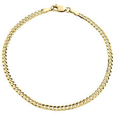 Real 14K Gold Cuban Curb Chains Necklace 1.6mm,2mm,3mm *Wholesale prices*