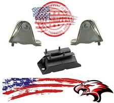 Brand New Engine & Transmission Mounts for Jeep Cherokee 1987-1999 4.0L 3pc Kit