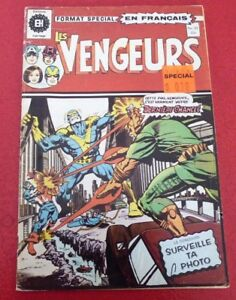 Soft-Cover-French-Heritage-Comic-Book-Les-Vengeurs-No-29