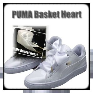 sports shoes 4eb2c 24f3d Details about ㊣PUMA Basket Heart Ribbon SHOELACES FLAT 100% MADE IN TAIWAN