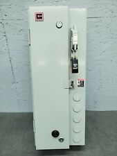 Culter Hammer Size 2 Combination Motor Starter Steel Ecn1828caa 25 Hp
