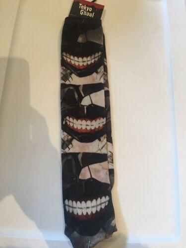 One Size Fits Most Teeth Socks Funimation Tokyo Ghoul Calf High Socks