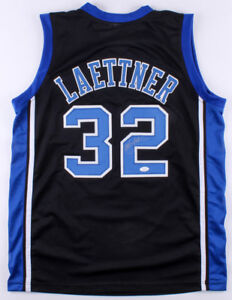 27e00df7ec03 Christian Laettner Signed Duke Blue Devils