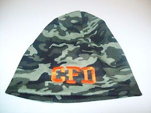 78da138b8c181 Image is loading Chicago-Fire-Department-Hat-Camo-Beanie