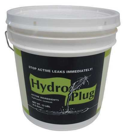 HYDROPLUG C120 10 lb Gray Concrete Foundation Repair Leak Stop