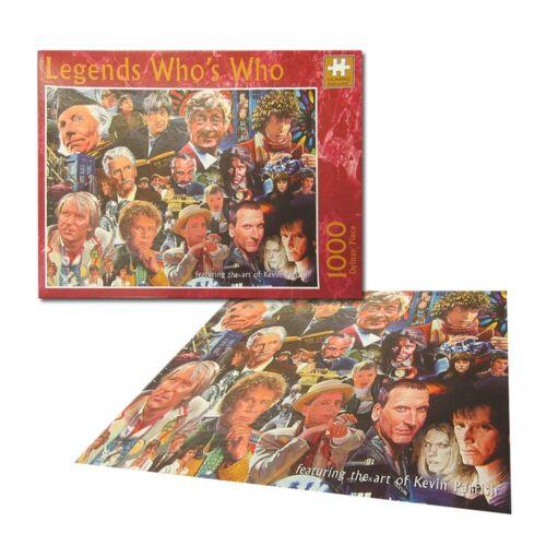 Dr Who qui est 1000 Pièce Collector Jigsaw Puzzle Légendes gamme de puzzles