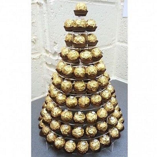Round Ferrero Ferrero Ferrero Rocher Display Stand 57773d