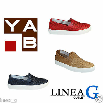 Acquista A Buon Mercato Yab Leather Slip On Sneakers S/s 2016 Slip On In Pelle Intrecciata P/e 2016 Rinfresco