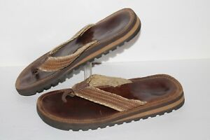 Sonoma-Thong-Sandals-Brown-Mens-US-Size-11