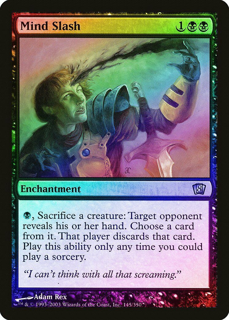 Maggot Carrier FOIL 8th Edition NM Black Common MAGIC GATHERING CARD ABUGames