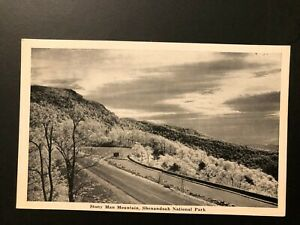 Old-Vintage-034-MOUNTAIN-VIEW-STONY-MAN-MOUNTAIN-034-Postcard-Made-in-USA