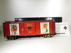 Aristocraft-G-Gauge-Norman-Rockwell-Christmas-Boxcar-ART-46037-2-C-31