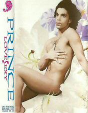 PRINCE LOVESEXY CASSETTE ALBUM Electronic Pop Rock, Synth-pop, Funk Paisley Park