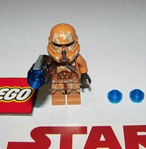 Mini Figure BRAND NEW! W//SHOOTER LEGO STAR WARS #75089 GEONOSIS TROOPER #2