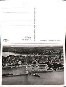 616030-Foto-Ak-Lindau-i-Bodensee-Hafenpartie-Hafen-Leuchtturm-Schiffe-Dampfer